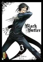 Black butler T3, manga chez Kana de Toboso