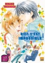 Rien n'est impossible T2, manga chez Taïfu comics de Takanaga
