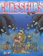 Les chasseurs T2, bd chez Joker de Krib, Widenlocher, Lesca, Léonardo