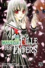 La nouvelle fille des enfers T1, manga chez Pika de Jigoku shojo project, Etô