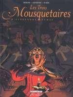 Les trois mousquetaires T4, bd chez Delcourt de Dufranne, Morvan, Ruben, Galopin