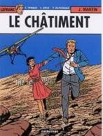 Lefranc T21 : Le châtiment (0), bd chez Casterman de Delperdange, Taymans, Schierer, Drèze, Wesel