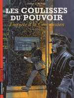 Les coulisses du pouvoir T5 : Enquête à la commission (0), bd chez Casterman de Delitte, Richelle