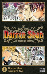 Darren shan  T4, manga chez Pika de Darren, Arai