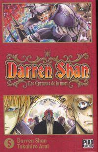 Darren shan  T5, manga chez Pika de Darren, Arai