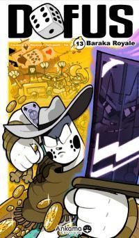 Dofus T13 : Baraka royale, manga chez Ankama de Devos, Mojojojo, Ancestral z
