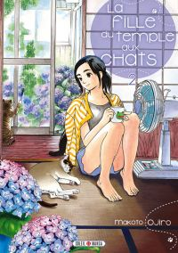 La fille du temple au chats T2, manga chez Soleil de Ojiro