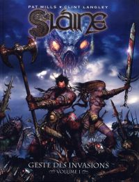Slaine - Geste des invasions T1, comics chez Nickel de Mills, Langley