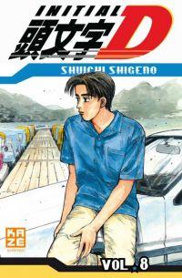 Initial D T8, manga chez Kazé manga de Shigeno