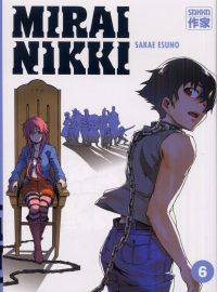 Mirai Nikki T6, manga chez Casterman de Esuno