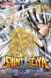 Saint Seiya - The lost canvas  T11, manga chez Kurokawa de Kurumada, Teshirogi