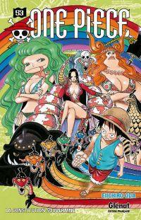 One Piece T53, manga chez Glénat de Oda