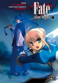 Fate stay night T4, manga chez Pika de Type-moon, Nishiwaki