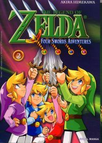 The legend of Zelda - Four swords adventures T2, manga chez Soleil de Himekawa