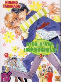 Rien n'est impossible T3, manga chez Taïfu comics de Takanaga