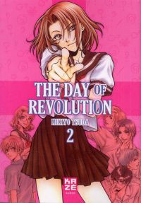 The day of revolution T2, manga chez Kazé manga de Tsuda