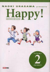 Happy ! T2 : Pro debut !! (0), manga chez Panini Comics de Urasawa