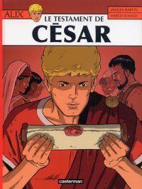 Alix T29 : Le testament de César (0), bd chez Casterman de Venanzi, Martin, Liégeois