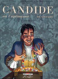Candide, de Voltaire T2, bd chez Delcourt de Dufranne, Delpâture, Radovanovic, Basset, Araldi
