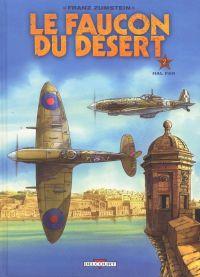 Le faucon du désert T2 : Hal Far (0), bd chez Delcourt de Zumstein