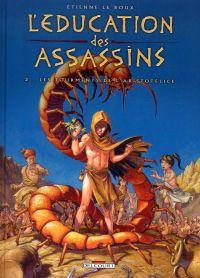 L'education des assassins T2 : Les tourments de l'Aristotélice (0), bd chez Delcourt de Le Roux