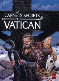 Les carnets secrets du Vatican T4 : Les Tenailles (0), bd chez Soleil de Novy, Perovic, Digikore studio