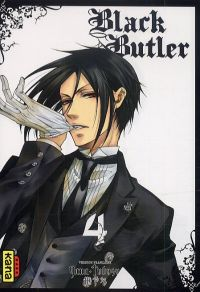 Black butler T4, manga chez Kana de Toboso