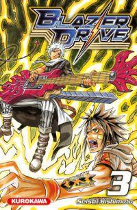 Blazer drive T3, manga chez Kurokawa de Kishimoto