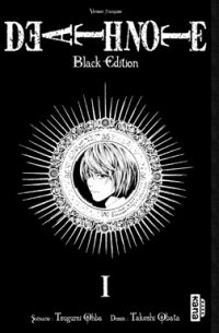 Death Note Black Edition T1, manga chez Kana de Ohba, Obata