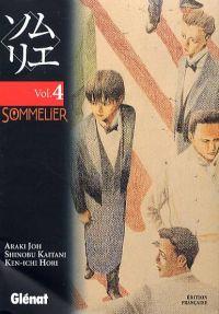Sommelier T4, manga chez Glénat de Hori, Araki, Kaitani