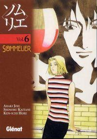 Sommelier T6, manga chez Glénat de Hori, Araki, Kaitani