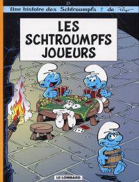 Les Schtroumpfs T23 : Les schtroumpfs joueurs (0), bd chez Le Lombard de Parthoens, Culliford, Borecki, Culliford