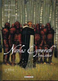 Nicolas Eymerich inquisiteur T2 : La déesse, II de II (0), bd chez Delcourt de Zentner, Sala