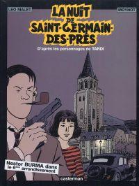Nestor Burma T5 : La nuit de Saint-Germain-des-Prés (0), bd chez Casterman de Malet, Tardi, Moynot, Busca