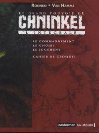 Le grand pouvoir du Chninkel T3 : Le jugement (0), bd chez Casterman de Van Hamme, Rosinski, Graza