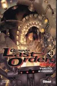 Gunnm Last Order – 1e édition, T3, manga chez Glénat de Kishiro