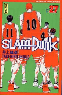 Slam Dunk T27, manga chez Kana de Inoue