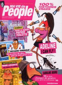 Ma vie de people, bd chez Drugstore de Blondieau, Nicolin