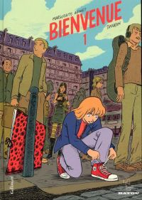 Bienvenue T1, bd chez Gallimard de Abouet, Singeon