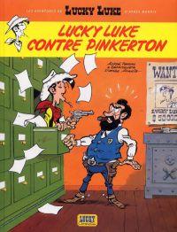 Les Nouvelles aventures de Lucky Luke T4 : Lucky Luke contre Pinkerton (0), bd chez Lucky Comics de Pennac, Benacquista, Achdé, Ducasse