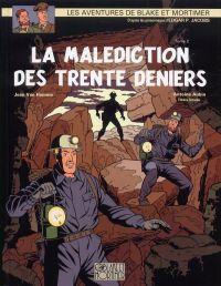 Blake & Mortimer T20 : La malédiction des trente deniers 2 - La porte d'Orphée (0), bd chez Blake et Mortimer de Van Hamme, Aubin, Schréder, Croix