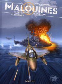 Malouines T1 : Skyhawk (0), bd chez Paquet de Barron, Taborda, Hartman
