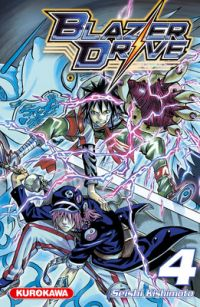 Blazer drive T4, manga chez Kurokawa de Kishimoto
