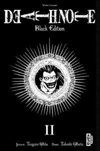 Death Note Black Edition T2, manga chez Kana de Ohba, Obata