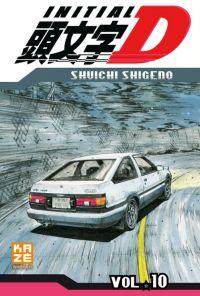 Initial D T10, manga chez Kazé manga de Shigeno