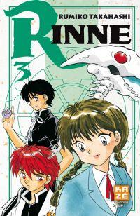 Rinne T3, manga chez Kazé manga de Takahashi