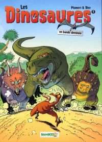 Les dinosaures T1, bd chez Bamboo de Plumeri, Bloz, Cosson