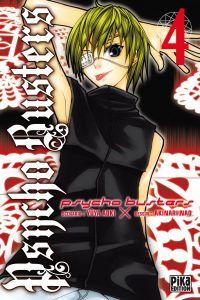 Psycho busters T4, manga chez Pika de Aoki, Nao
