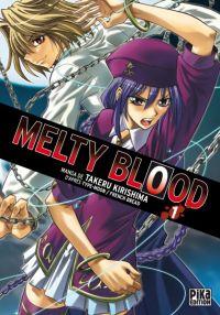 Melty blood T1, manga chez Pika de French bread, Type-moon, Kirishima
