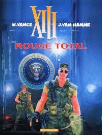 XIII T5 : Rouge total (0), bd chez Dargaud de Van Hamme, Vance, Petra